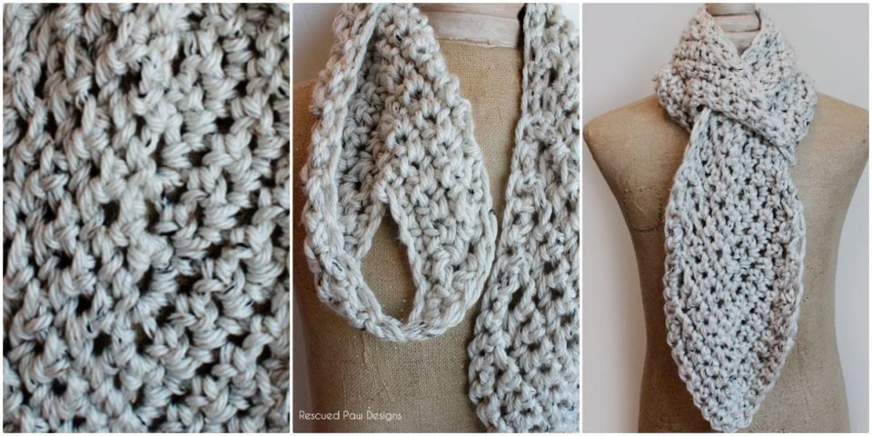Pull through Adjustable Scarf by Krista Cagle