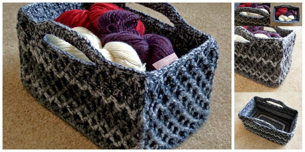 yourcrochet-rectangular-trellis-basket