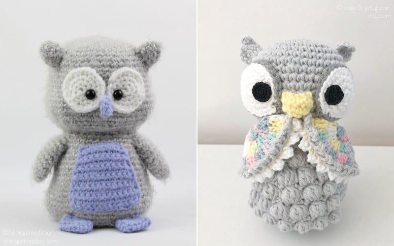 Charming Amigurumi Owls