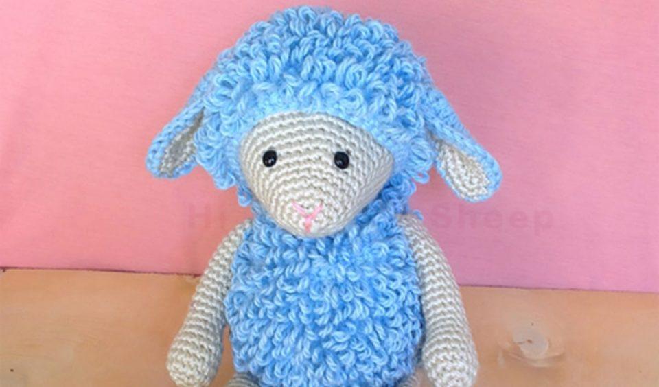 Shaggy Sheep Free Crochet Pattern