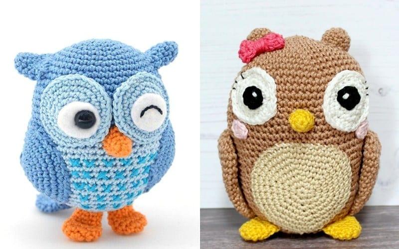 Charming Owls Free Crochet Patterns