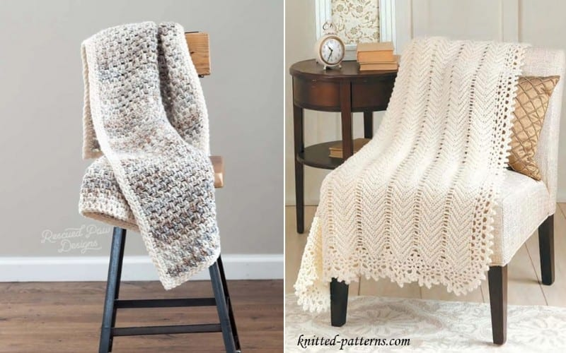 Minimalist Dream Blankets Free Crochet Patterns