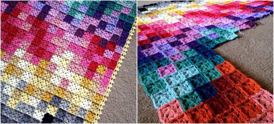 Pixel_Crochet_blanket
