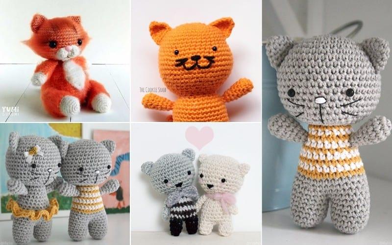 Cuddly Kittens Free Patterns