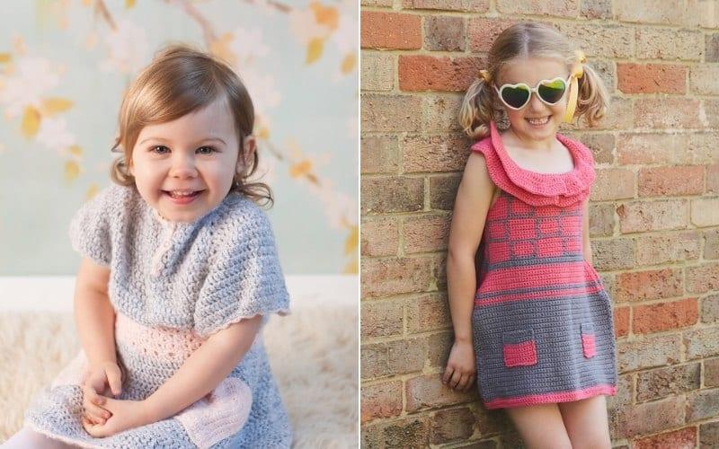 Pretty Simple Baby Dresses