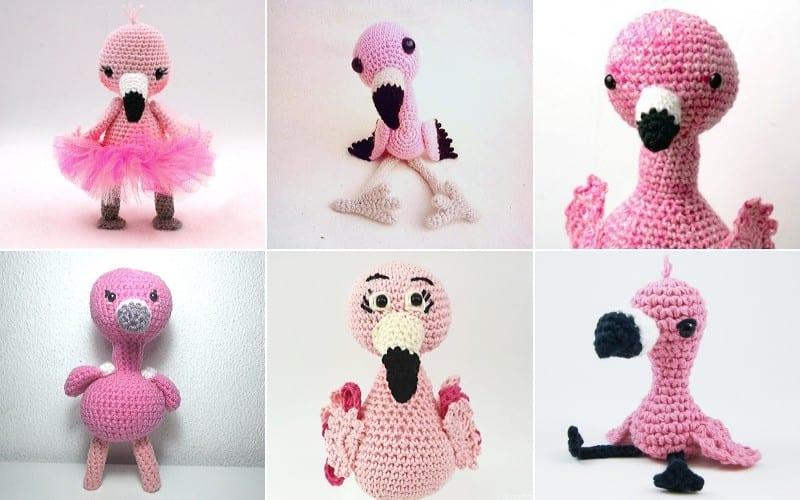Fabulous Flamingos Crochet Patterns