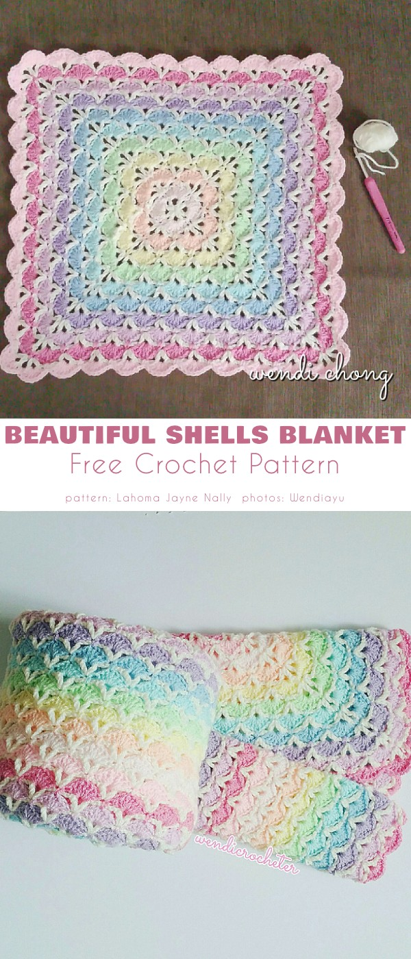 Beautiful Shells Blanket