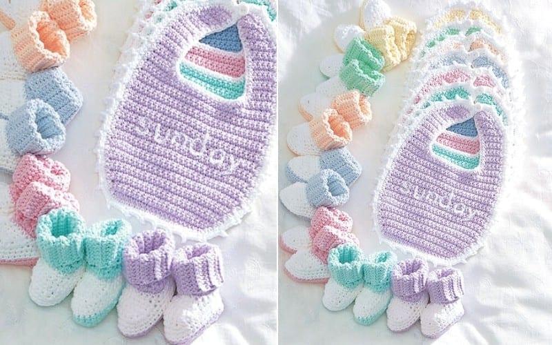 Everyday Baby Set Free Crochet Pattern