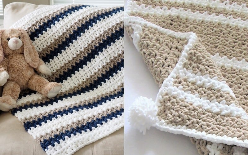 Quick and Creamy Baby Blankets