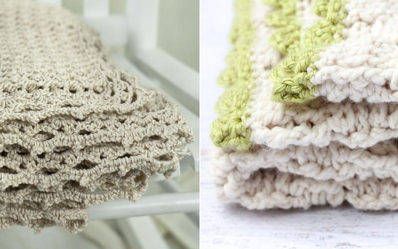 Basketweave Blankets Free Crochet Patterns