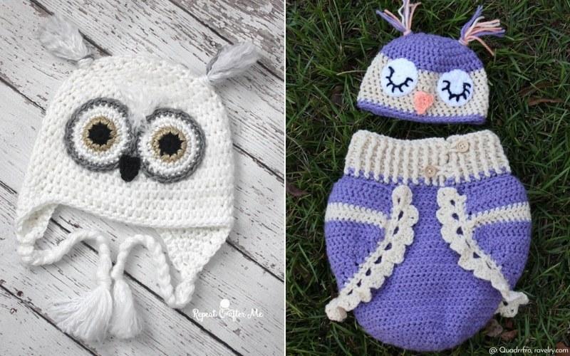 Baby Owl Crochet Patterns