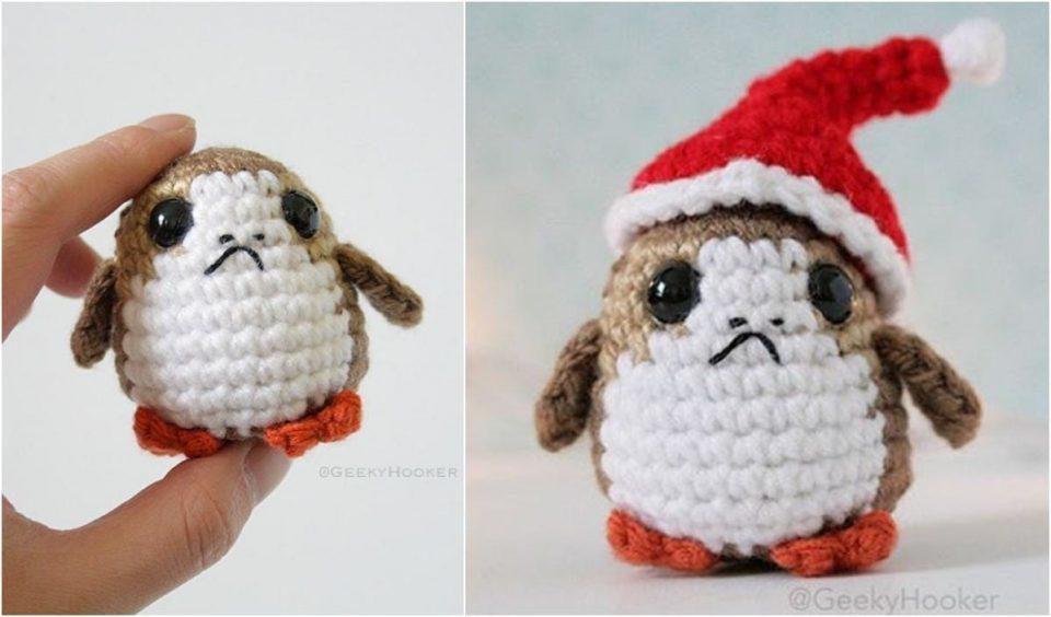 Christmas Porg Free Pattern
