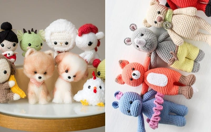 Awesome Amigurumi Collections Free Crochet Patterns