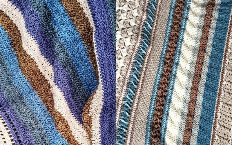 Double Trouble Blankets Free Patterns