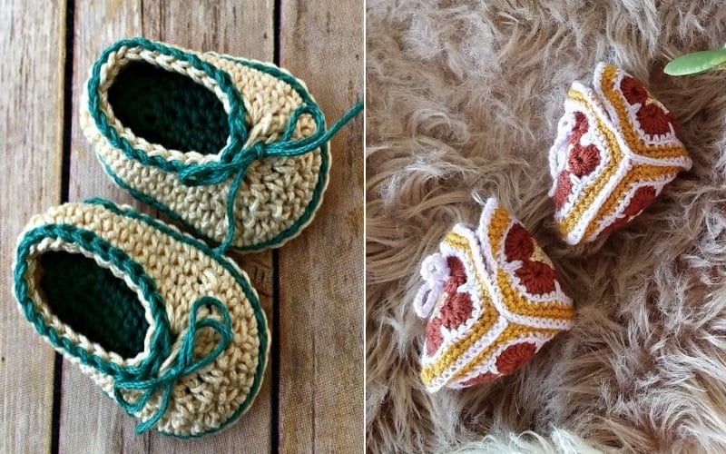 Easy Baby Booties Free Patterns