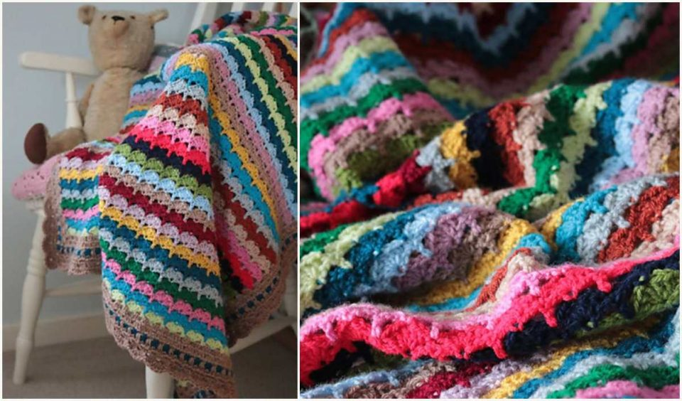 Spice of Life Blanket Free Crochet Pattern