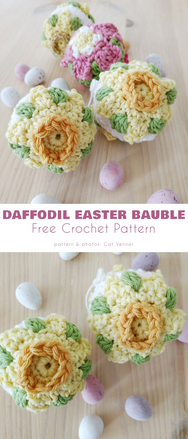 Daffodil Easter Bauble