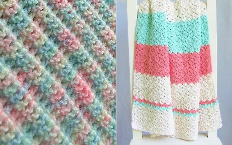 Easy-Peasy Baby Blankets Free Patterns