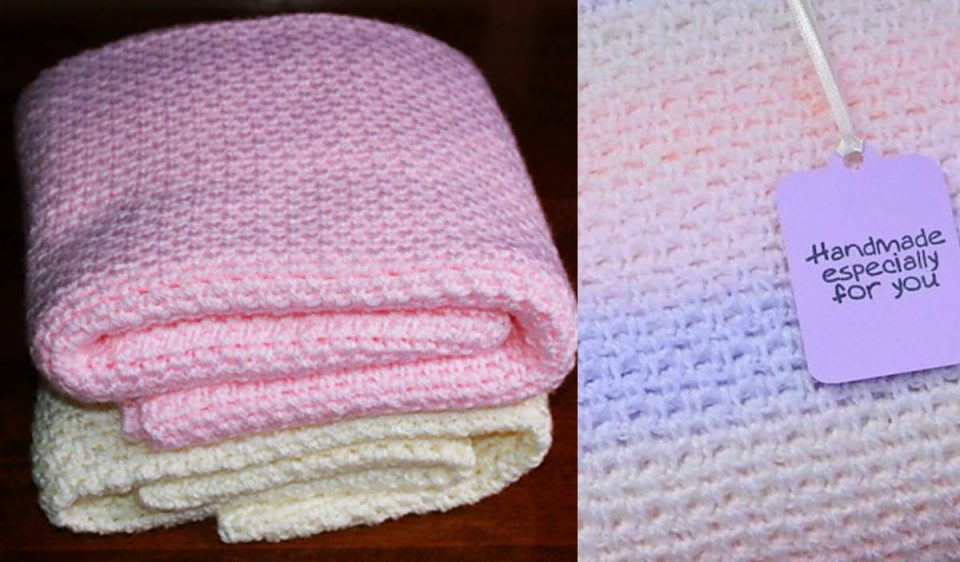 Fast and Easy Baby Blanket Free Pattern