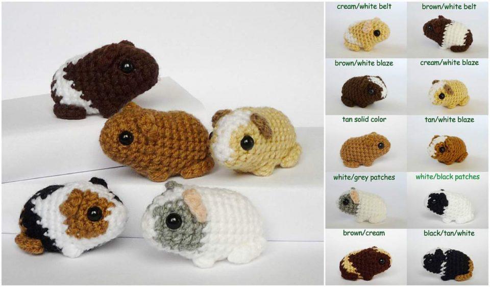 Newborn Baby Guinea Pig Free Pattern
