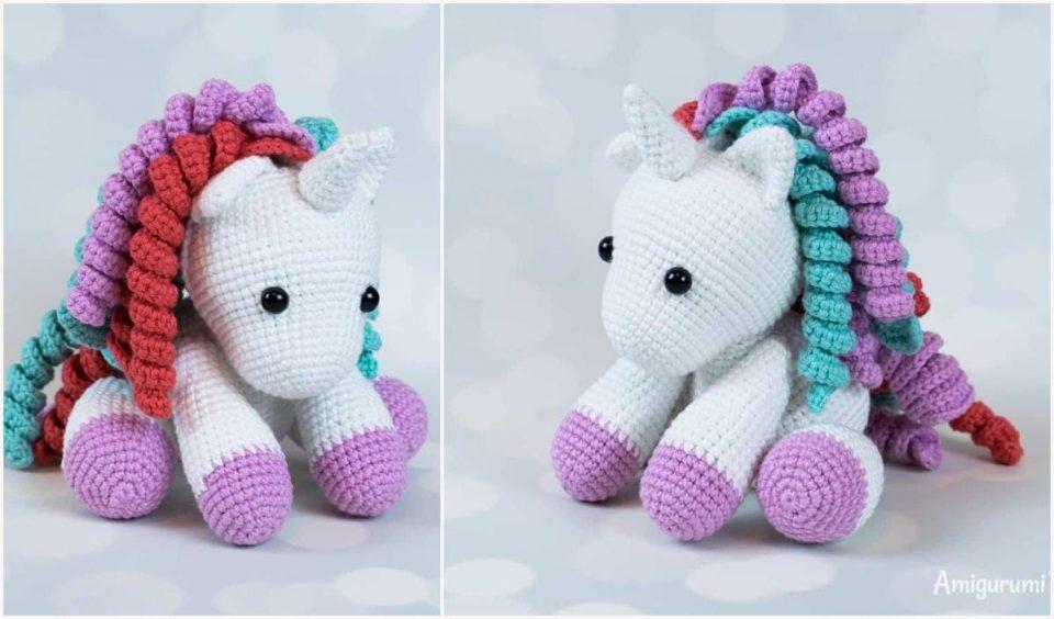 Baby Unicorn Amigurumi Free Crochet Pattern