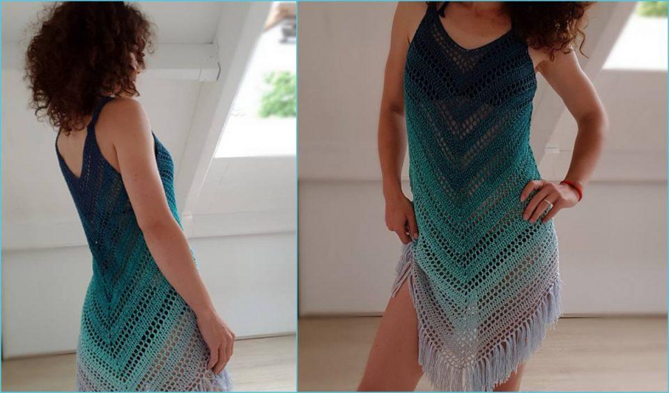 Sea Breeze Cover Up Free Crochet Pattern