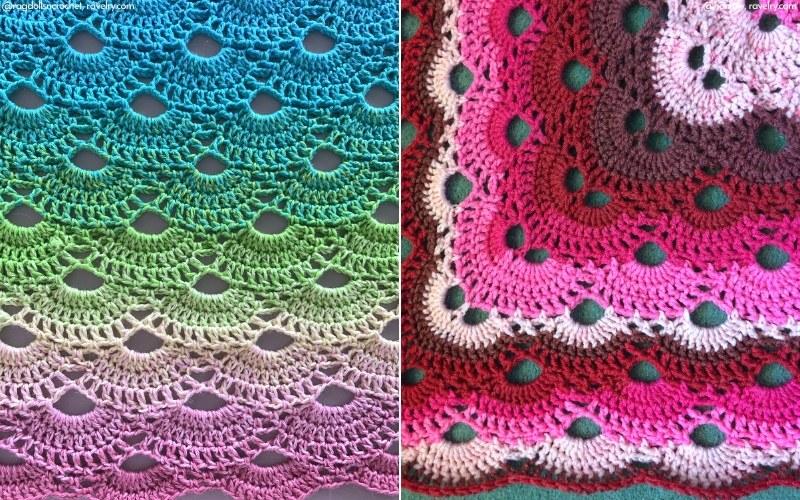 Virus Blanket Crochet Pattern and Free Video Tutorial