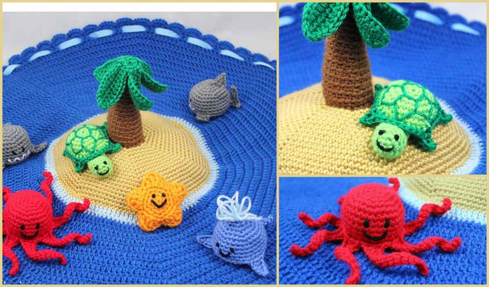Island Play Set Free Crochet Pattern