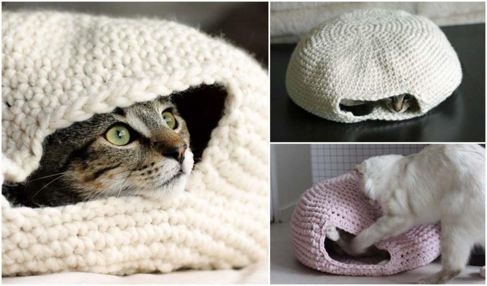 Nest for Cats Free Crochet Pattern