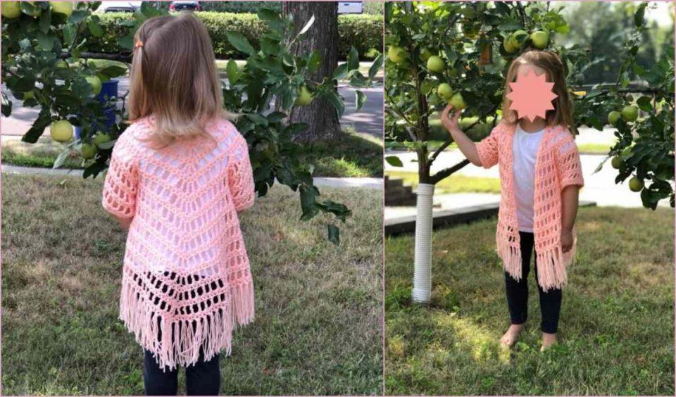 It's Shawl Good Cardigan Free Crochet Pattern