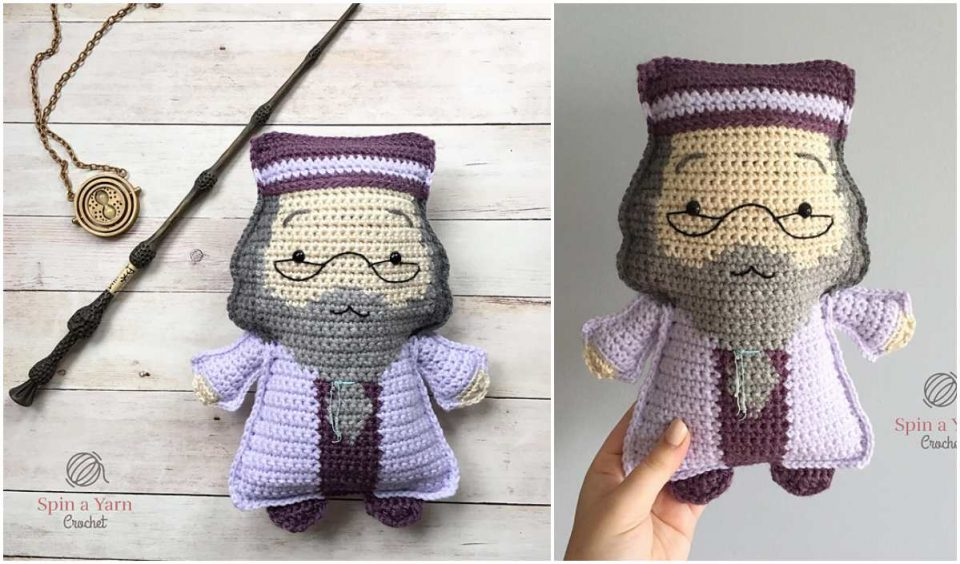 Ragdoll Dumbldore Free Crochet Pattern