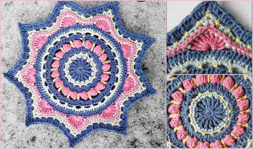 Anastasia A Little Crochet Mandala Free Pattern