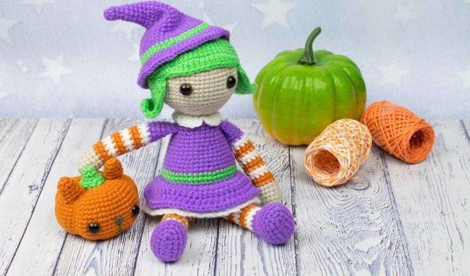 Halloween Witch Doll Amigurumi Pattern