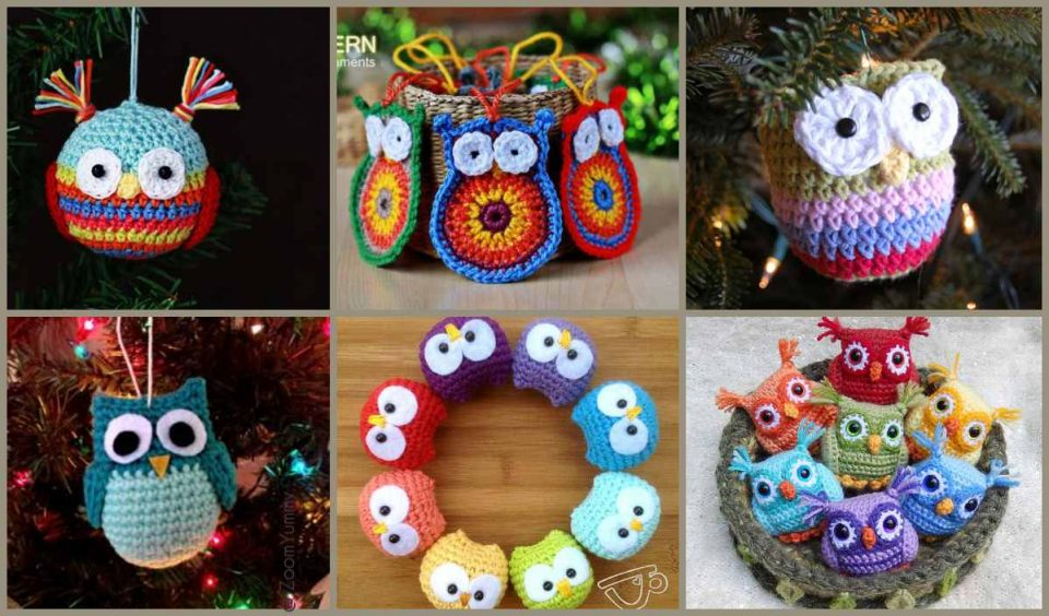Owl Ornaments The Best Ideas Crochet Patterns