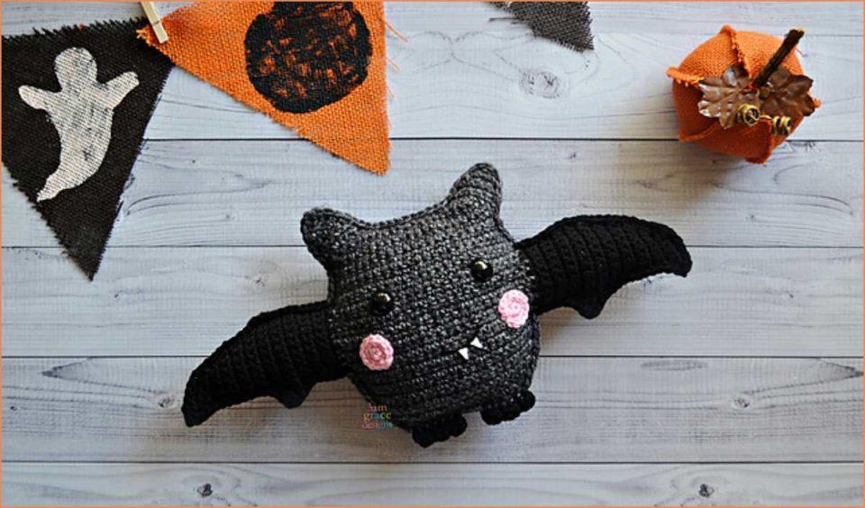 Bat Kawaii Cuddler Free Crochet Pattern