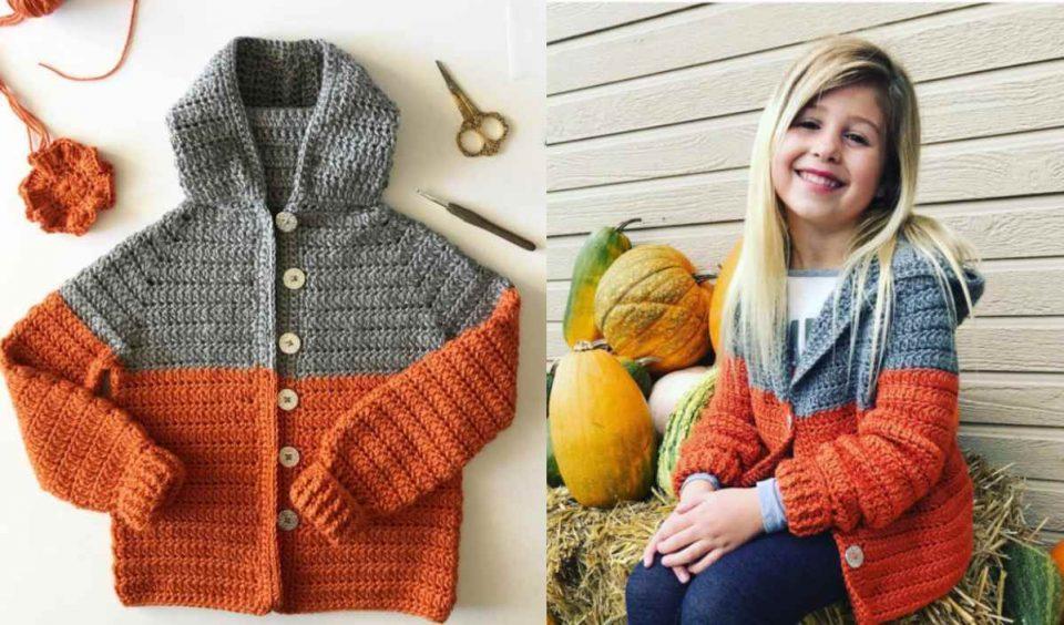 Color Block Sweater Free Crochet Pattern