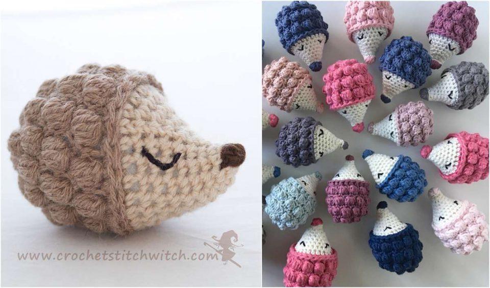Diddy Hedgehog Free Crochet Pattern