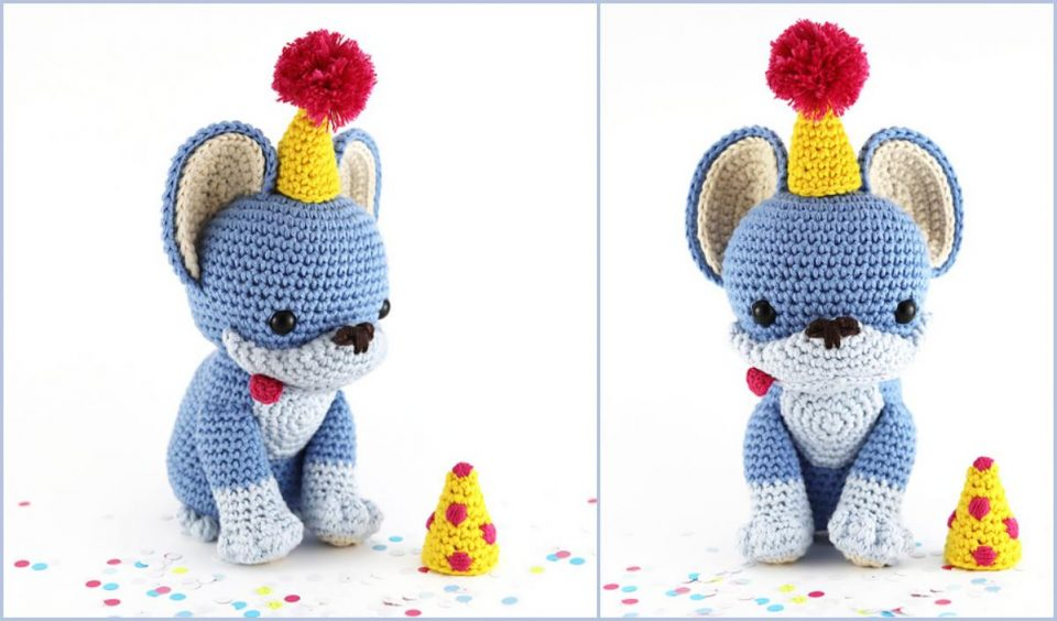 Party Pup Free Crochet Pattern Amigurumi