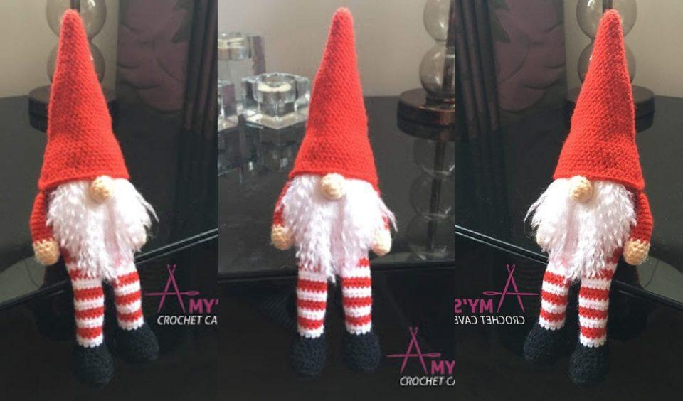 Christmas Gnome Free Crochet Pattern