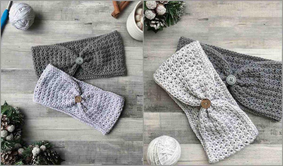 Hope Ear warmer Free Crochet Pattern