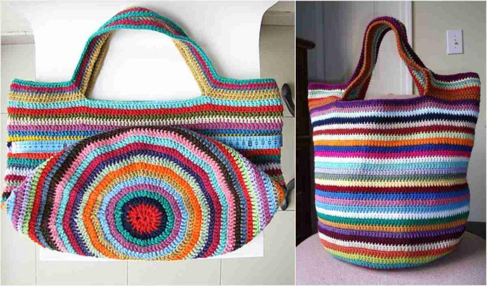 Tote Bag Free Crochet Pattern