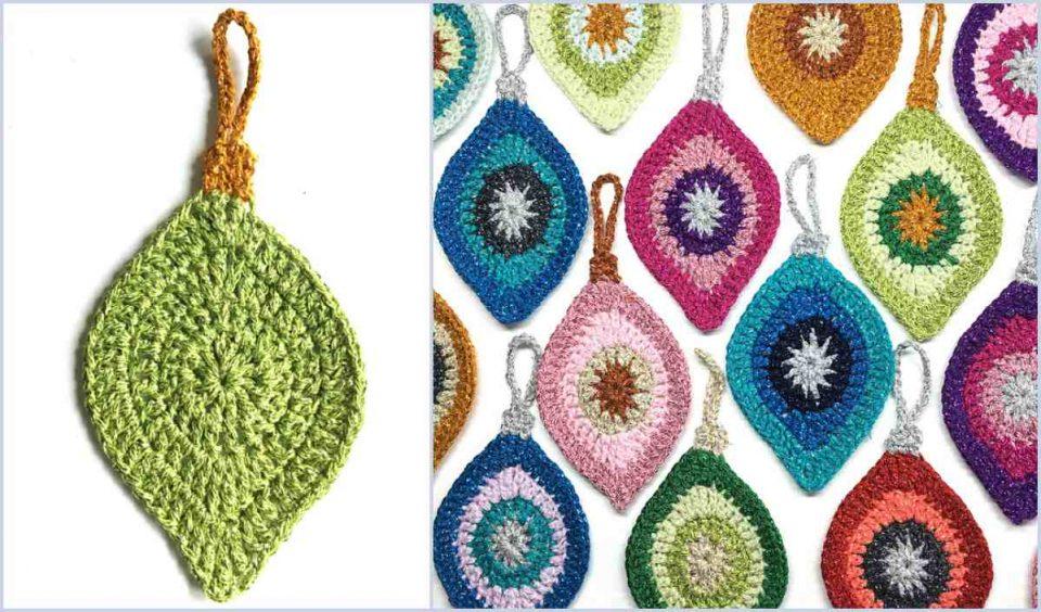 Unique Christmas Ornaments Free Crochet Pattern