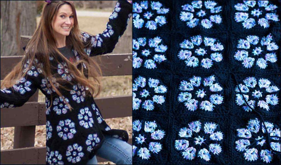 Topaz Hooded Jacket Free Crochet Pattern