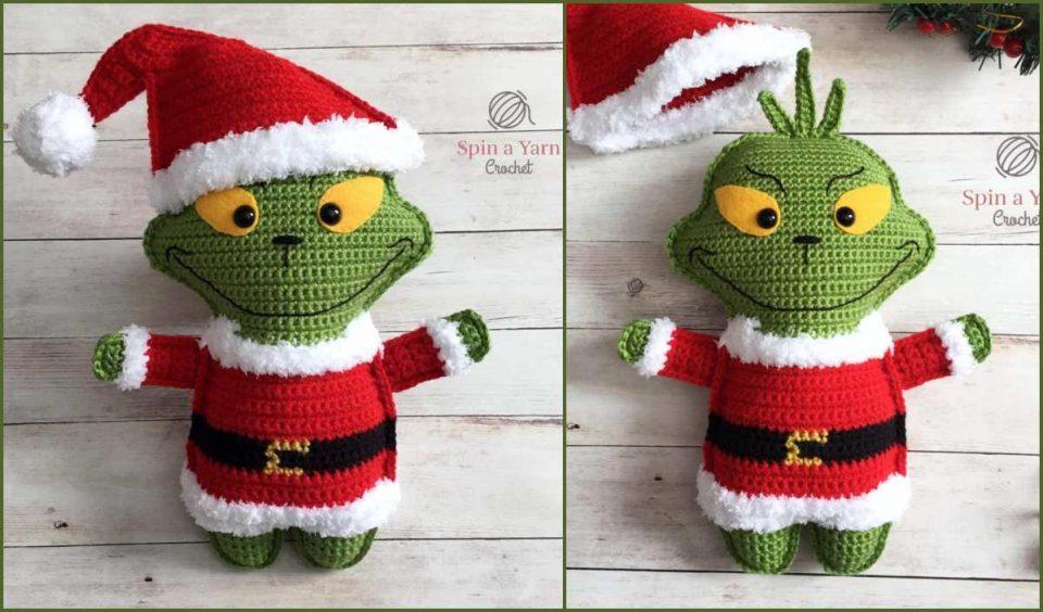 The Grinch Softie Free Crochet Pattern
