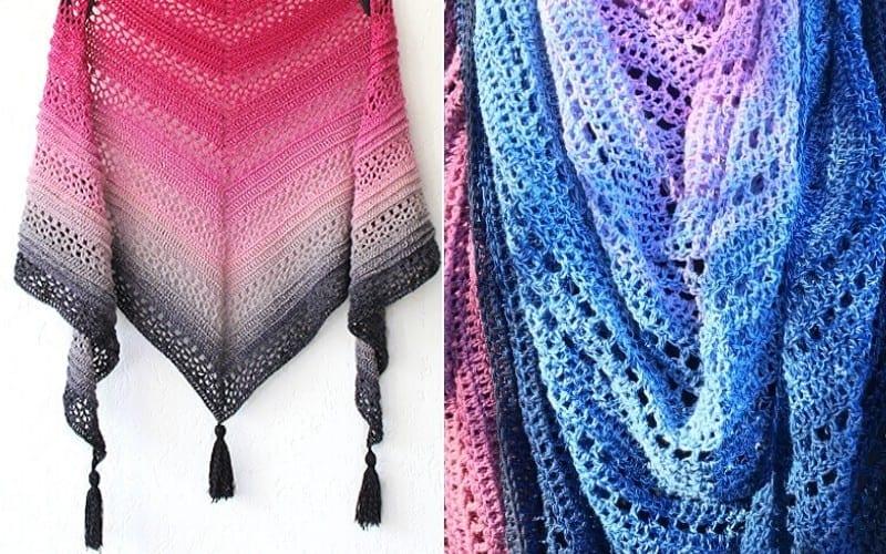 Girl Power Shawls Free Crochet Patterns
