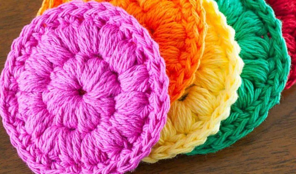 Cotton Face Scrubbies Free Crochet Pattern
