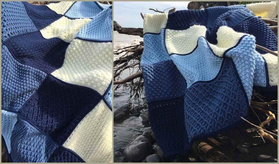 Erie Water Throw Free Crochet Pattern