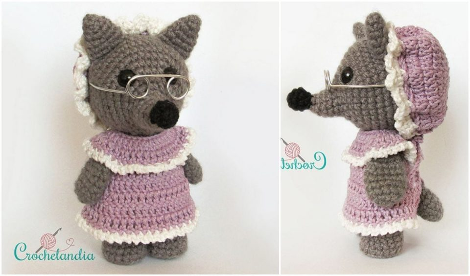 Grandma Big Bad Wolf Free Crochet Pattern