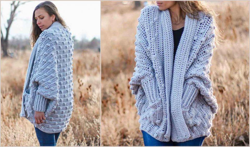 Haven Cardigan Free Crochet Pattern