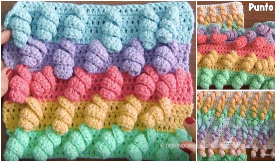 Unicorn Stitch Free Crochet Pattern & Tutorial